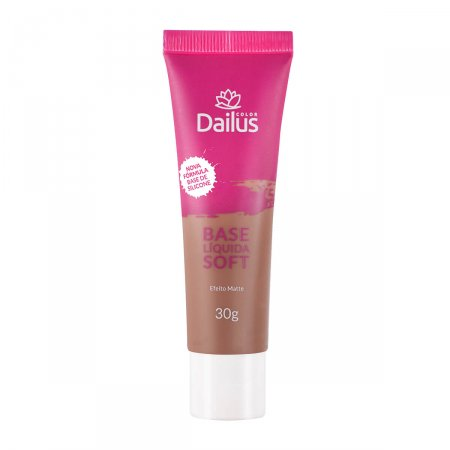 Base Líquida Dailus Soft Marrom Claro