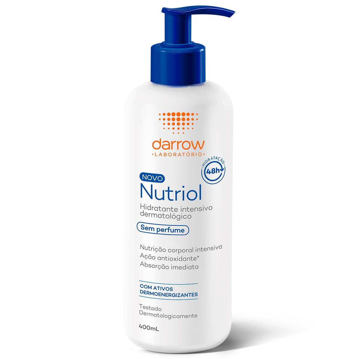 Hidratante Corporal Darrow Nutriol Sem Perfume com 400ml 400ml