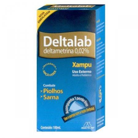 DELTALAB SHAMPOO 100ML + PENTE FINO