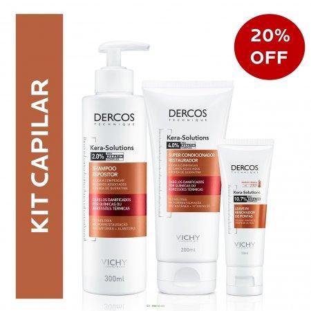 Kit Capilar Dercos Kera-Solutions