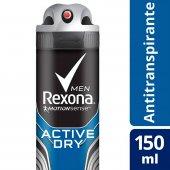 Desodorante Antitranspirante Aerosol Rexona Men Active Dry