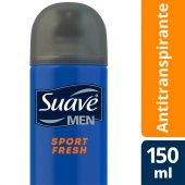 Desodorante Aerosol Antitranspirante Suave Men Sport Fresh