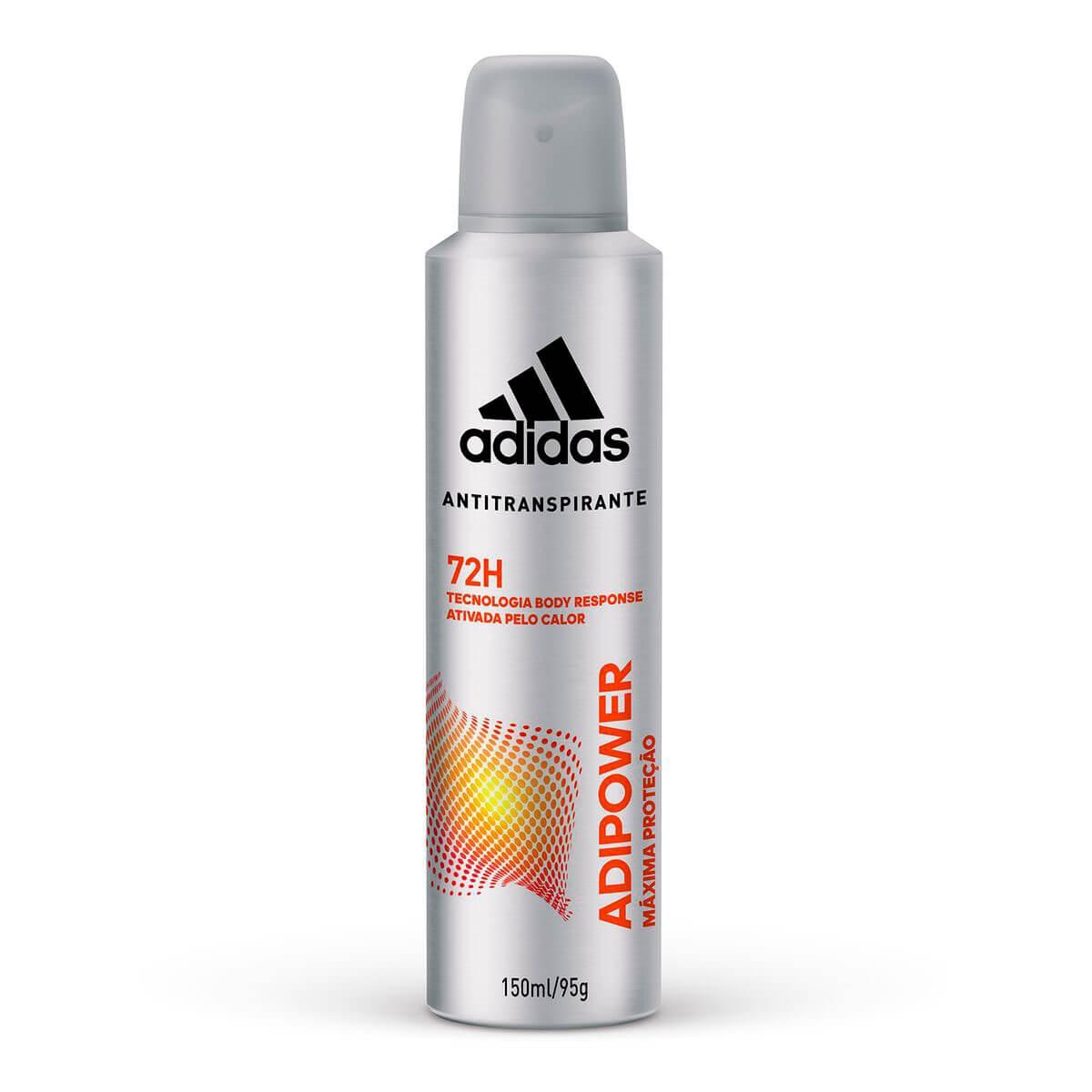 Desodorante Aerosol Masculino Adidas Adipower 150ml 150ml