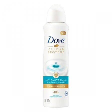 Desodorante Antitranspirante Aerosol Dove Cuida & Protege 150ml   Drogasil.com Foto 1