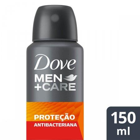 Desodorante Antitranspirante Aerosol Dove Men +Care Proteção Antibacteriana com 150ml