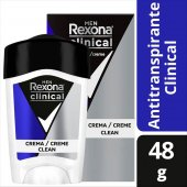 REXONA DESODORANTE CREME MEN DEO STI AP CLINICAL 48G