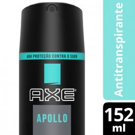 Desodorante Antitranspirante Body Spray Axe Apollo Masculino com 150ml