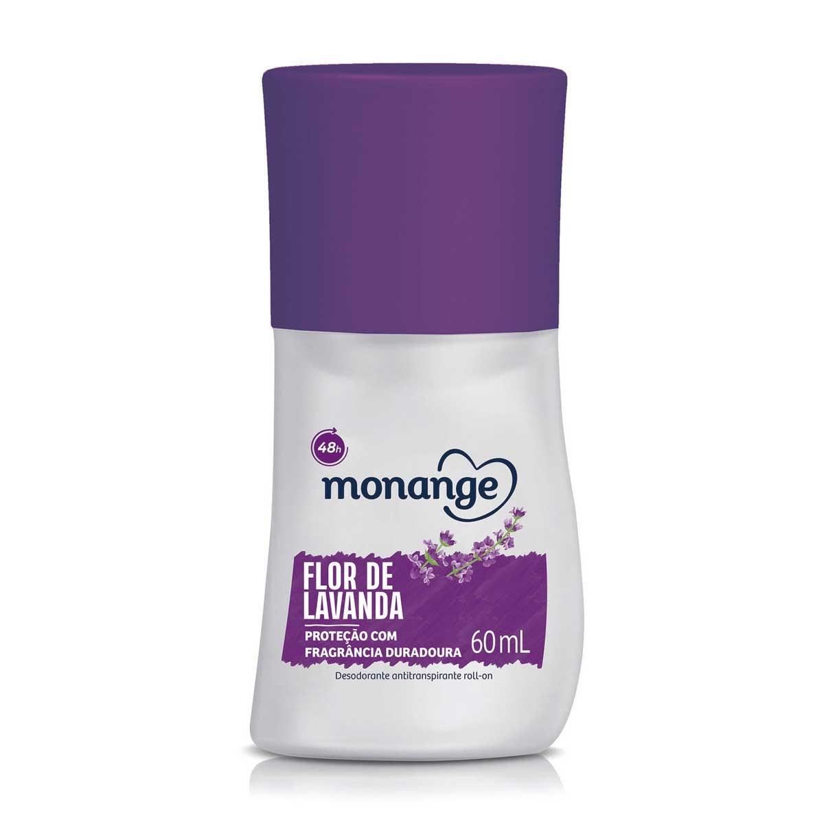 Desodorante Roll-On Monange Flor de Lavanda com 60ml 60ml