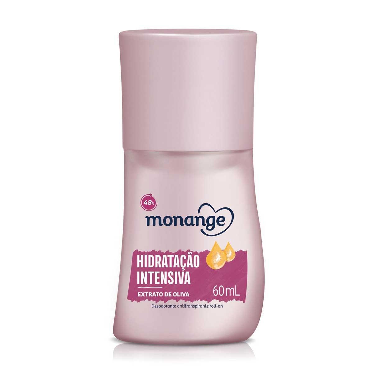 Desodorante Roll-On Monange Hidratação Intensiva com 60ml 60ml