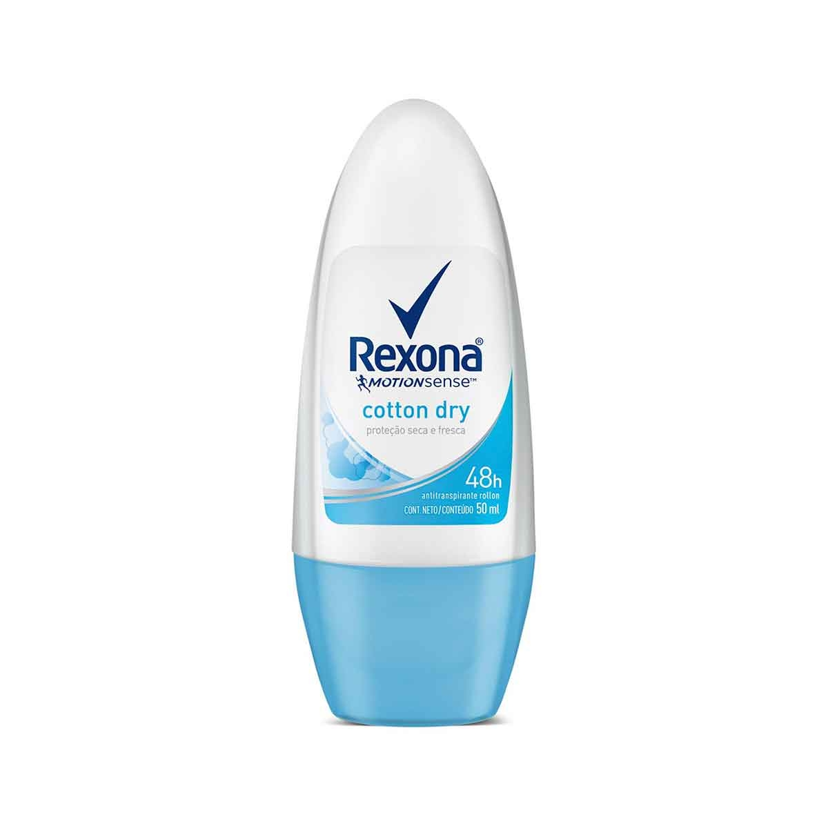 Desodorante Roll-On Rexona Cotton Dry 50ml