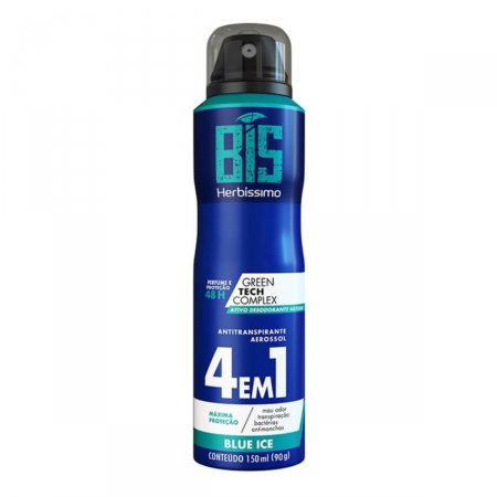 Desodorante Aerossol Bis Herbíssimo Blue Ice