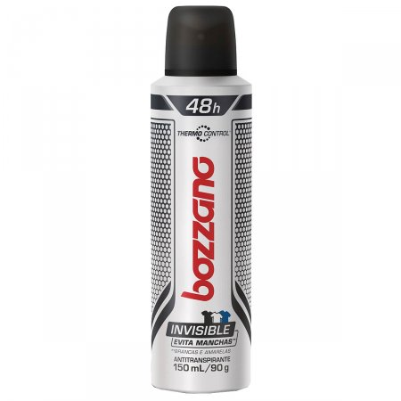 Desodorante Aerosol Bozzano Thermo Control Invisible