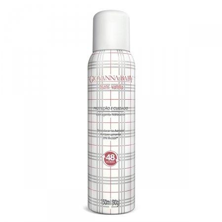 Desodorante Aerosol Giovanna Baby Blanc Vanilla