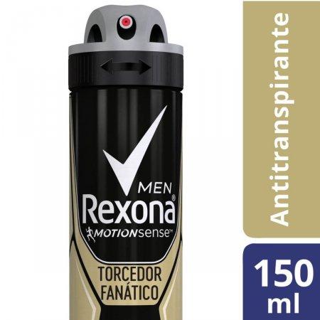 REXONA MEN DESODORANTE AEROSOL TORCEDOR FANATICO COM 150ML