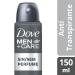 Desodorante Antitranspirante Aerosol Dove Men+Care Sem Perfume 89g | Drogasil - Foto 1
