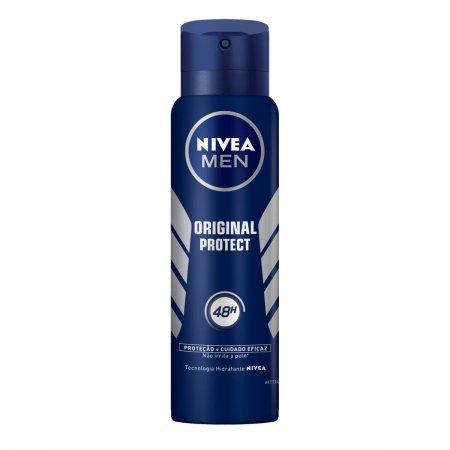 Desodorante Antitranspirante Aerosol Nivea Men Original Protect   Drogasil.com