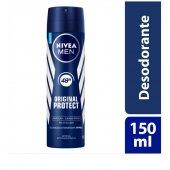 Desodorante Antitranspirante Aerosol Nivea Original Protect