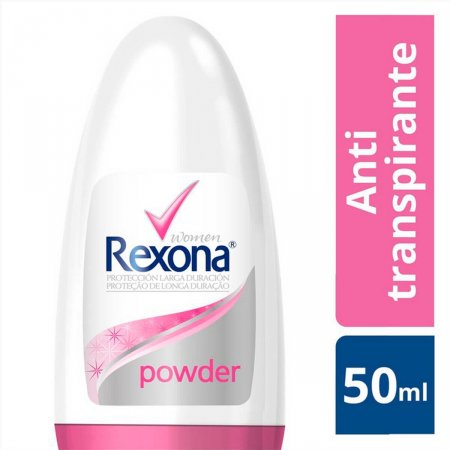 Desodorante Antitranspirante Roll-On Rexona Powder Dry
