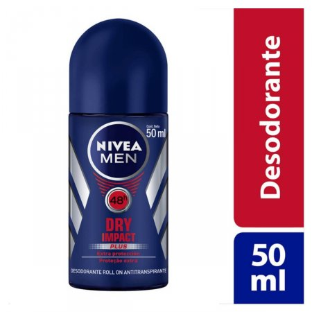 Desodorante Antitranspirante Roll On Nivea Dry Impact