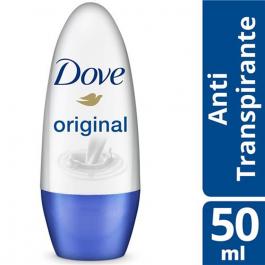 Desodorante Antitranspirante Roll-On Dove Original com 50ml