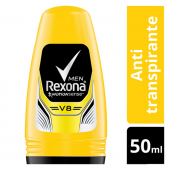 REXONA MEN DESODORANTE ROLL ON V8 50ML