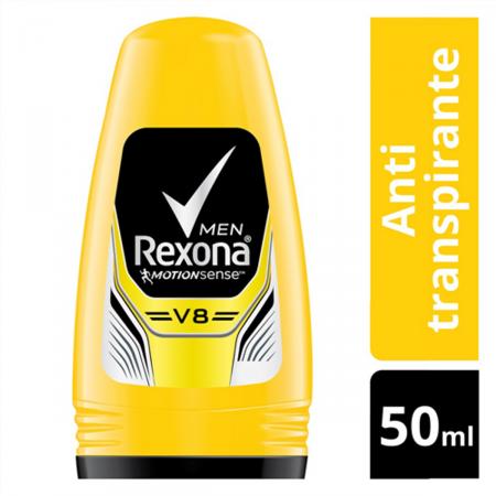 Desodorante Antitranspirante Roll-on Rexona V8