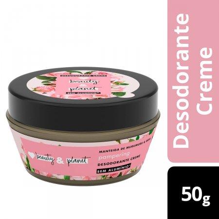 Desodorante Creme Pampering Manteiga de Murumuru & Rosa