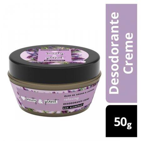 Desodorante Creme Relaxing Óleo de Argan & Lavanda