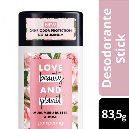 Desodorante Stick Manteiga de Murumuru & Rosa