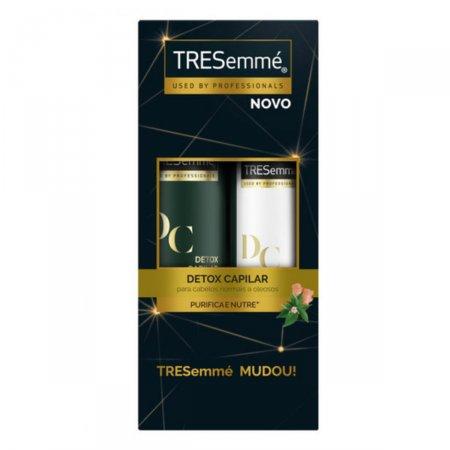 Kit Shampoo Tresemmé Detox Capilar + Condicionador