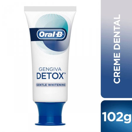 Creme Dental Oral-B Gengiva Detox Gentle Whitening