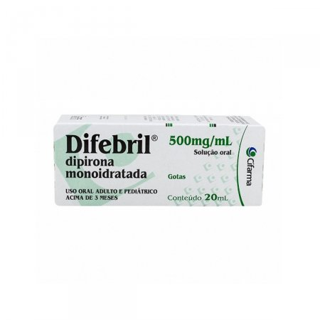 Difebril 500mg/ml