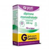 DIPIRONA MONOIDRATADA 500MG PRATI GENERICOS 30 COMPRIMIDOS