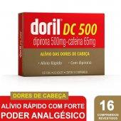DORIL DC COM 16 COMPRIMIDOS