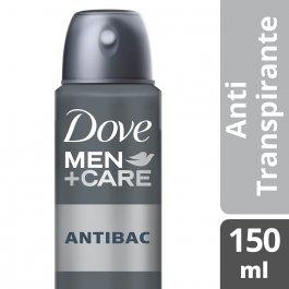 Desodorante Antitranspirante Aerosol Dove Men Antibac com 150ml