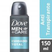Desodorante Antitranspirante Aerosol Dove Cuidado Total