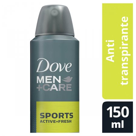 DOVE MEN DESODORANTE AEROSOL ANTITRANSPIRANTE EXTRA FRESH 89G