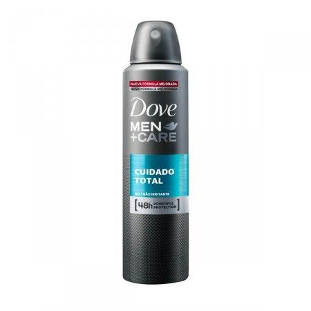 Desodorante Aerosol Cuidado Total Dove Men Care 150ml | Drogasil.com Foto 1