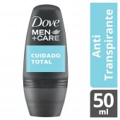 Desodorante Antitranspirante Roll-On Dove Men+Care Cuidado Total