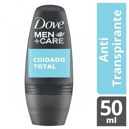 DOVE MEN DESODORANTE ROLL ON CUIDADO TOTAL 50ML