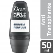 Desodorante Roll-On Dove Men Care Sem Perfume