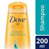 Shampoo Dove Nutrição Óleo-Micelar