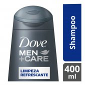 Shampoo Dove Men Care Limpeza Refrescante