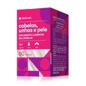 DROGASIL CABELO + UNHA + PELE 60 CAPSULAS