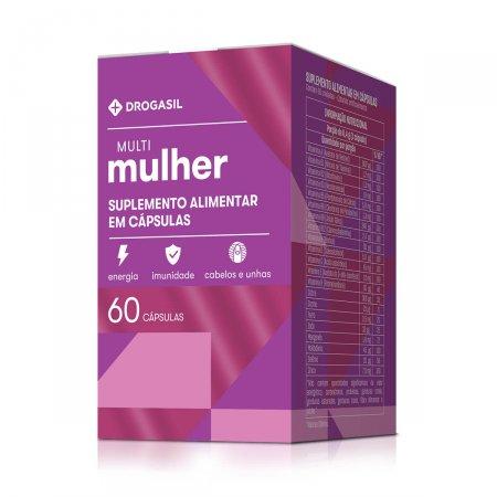 DROGASIL MULTI MULHER 60 CAPSULAS