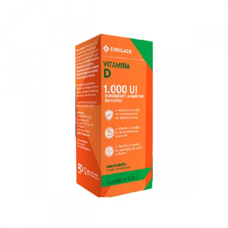 DROGASIL VITAMINA D 1000 UI 10ML