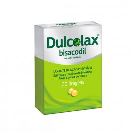Laxante Dulcolax 5mg com 20 drágeas