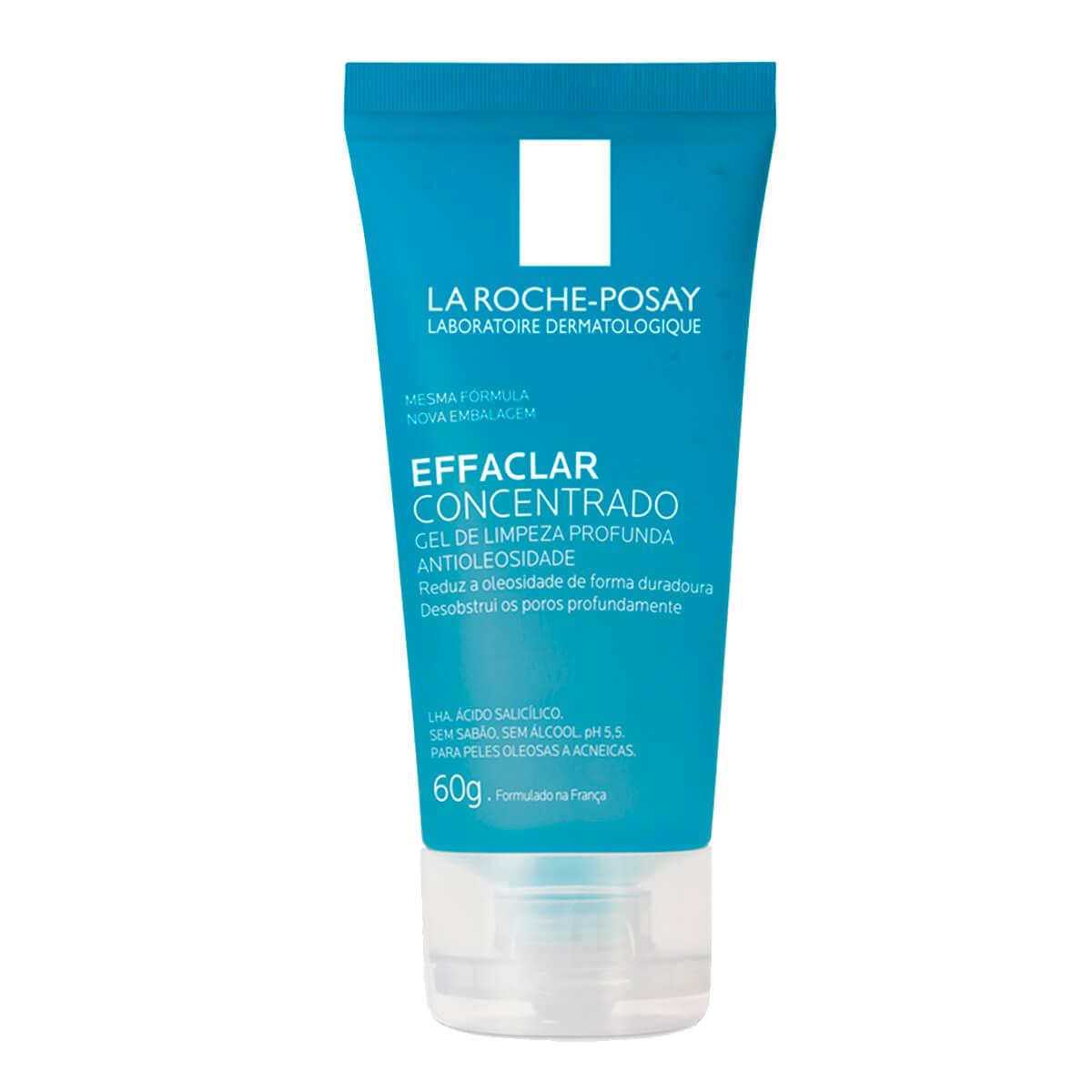 Gel de Limpeza Facial Effaclar Concentrado La Roche-Posay com 60g 60g