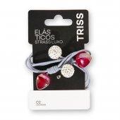 Elástico de Cabelo Triss Strass Luxo