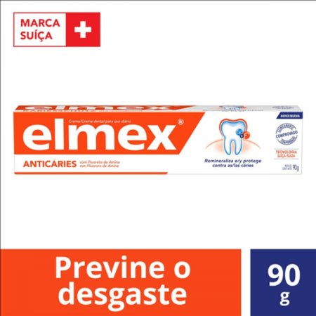 ELMEX CREME DENTAL ANTICARIES 90G
